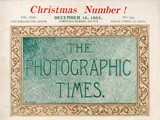 Cover: Christmas Number: The Photographic Times: 1893