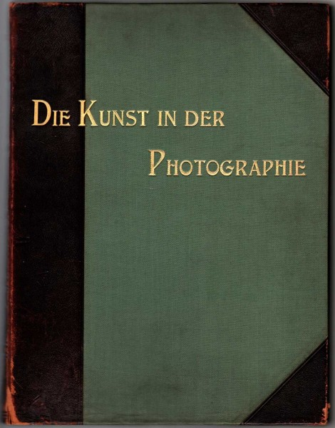 Cover: Die Kunst in der Photographie