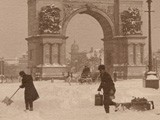 Brooklyn Winter at Prospect Park Plaza