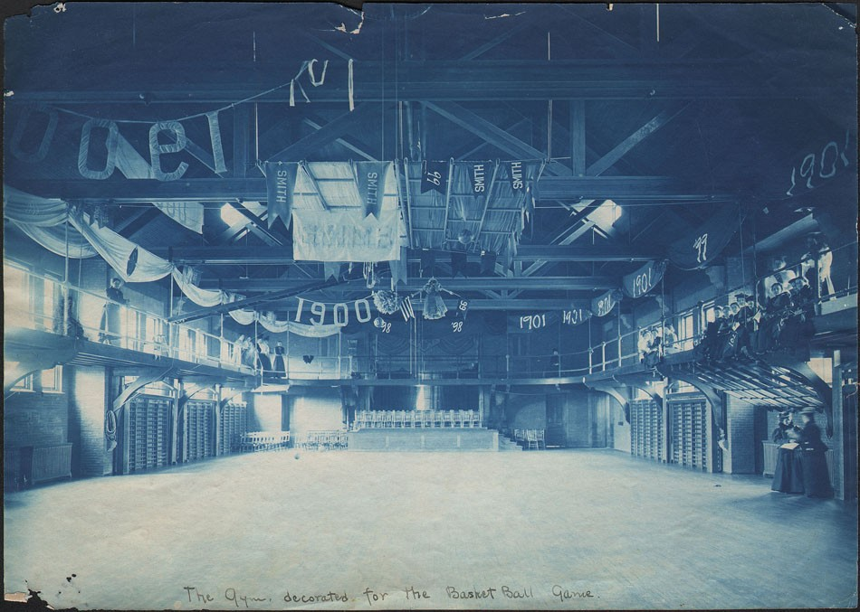 6-smith-college-gym-decorated-for-basket-ball-game